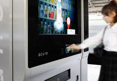 The acure Digital Vending Machine #Touchscreen