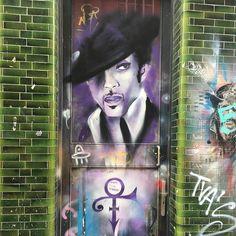 #prince #rip #streetart #lovemylife #londonlove #shoreditch #shoreditchstreetart…