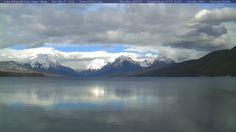 Image from the Lake McDonald Webcam Glacier National Park 3-7-16 1430
