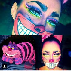 cheshire-cat-halloween-makeup