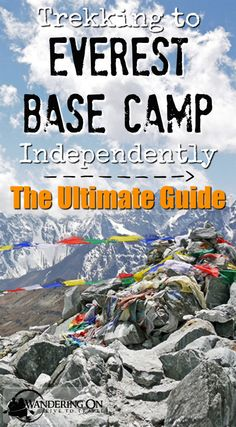 Wandering On Travel Blog | The Ultimate Guide to Walking the Everest Base Camp Trek Independently | http://wanderingon.com