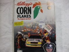Kellogg's Corn Flakes Racing Team Commemorative Box With Nascar On Front & Back 1995 Unopened by NASCAR. $14.95. This is the 1995 corn flakes commemorative box with nascar on front & back still unopened.