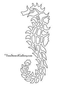 Thundercats symbol stencil projects to try pinterest seahorse stencil pronofoot35fo Images