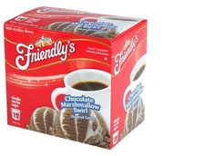 18-Count Friendly's Chocolate Marshmallow Coffee Single Serve Coffee Makers #friendlys