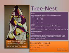 Sugar Glider DIY - Tree Nest