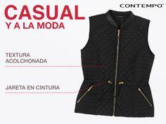 ¡Haz que tu look sea único! Usa este chaleco #Contempo y logra un outfit trendy.