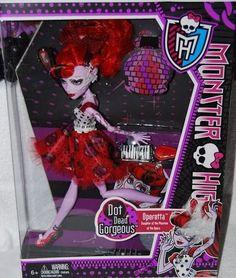 Monster High Dot Dead Gorgeous Operetta Doll *Damaged Box A*