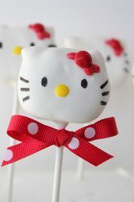 Cakepop hello kitty