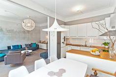 Bolig til salgs Real Estate, Places, Kitchen, Table, Furniture, Home Decor, Cooking, Decoration Home, Room Decor