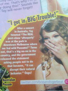 Hahaha oh Taylor