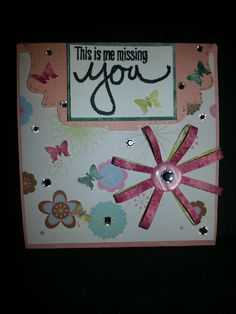 Card altered from original sizzix die for the card base.  See blog for more info www.ladyslipperway.blogspot.com