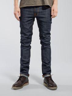 6cf72af5e4 Thin Finn Dry Ecru Embo. Nudie JeansMan JeansRaw DenimToo ThinMenswearMens  FashionStretch ...
