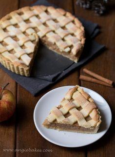Mriežkový jablkový koláč | Angie Sweet Recipes, Waffles, Pie, Breakfast, Food, Decor, Torte, Morning Coffee, Cake