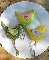 Textilné anjeliky na stromček v béžových farbičkách...