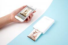 Polaroid Zip Instant Mobile Printer - imprime fotos diretamente do seu smartphone ou do tablet em menos de 60 segundos;