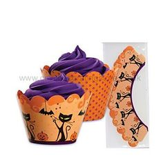 Halloween Reversible Wrappers x 12