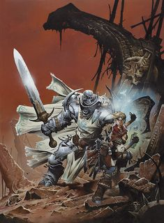 For me, the artwork of Wayne Reynolds defines my vision of Fantasy Tabletop RPG worlds. High Fantasy, Fantasy Rpg, Fantasy Artwork, Fantasy World, Fantasy Races, Fantasy Heroes, Fantasy Warrior, Fantasy Characters, Steampunk Characters