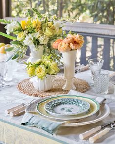 Centerpieces, Table Decorations, Tea Roses, Tablescapes, Outdoor Living, Ranunculus, Fill, Southern, Bouquet