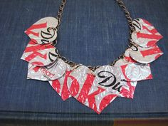 diet coke can necklace
