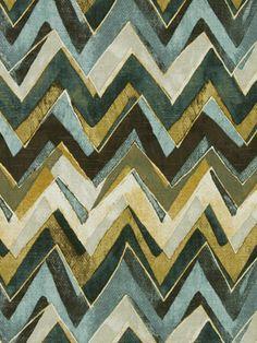 Contemporary Chevron Fabric by greenapplefabrics on Etsy, $39.00