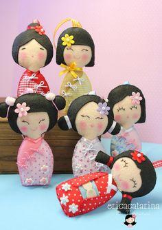 Ei Menina!: boneca japonesa