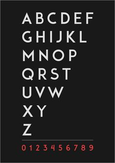 ADAM - Free Typeface by Shrenik Ganatra, via Behance