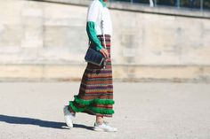 Paris Fashion Week Street Style Pictures
