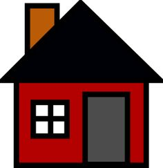 Cartoon House Outline Clipart - Free to use Clip Art Resource - ClipArt Best New Property, Investment Property, Property Search, House Outline, Cartoon House, Home Inspection, Protecting Your Home, Red Walls, Real Estate Tips