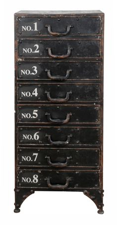 These would look great in the study with all my writing notes in them! - Heal's | Number 8 Chest of Drawers - Chest of Drawers - Bedroom Furniture - Furniture