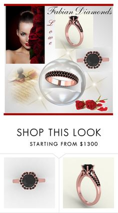 """""""Fabian Diamonds 3"""" by rose-99 ❤ liked on Polyvore"""