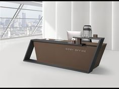 most beautiful reception desk design - YouTube