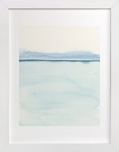 """Playa Two"" - Art Print by Emily Magone in beautiful frame options and a variety of sizes."