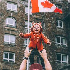 Atticus is loving Canada at @fairmontbanff !!