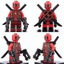 New 2017 's Xmen Superheroes Deadpool X-Men Marvel Mini Figure Custom Lego Lego Deadpool, G Man, Custom Lego, Marvel, Mini, Fictional Characters, Decor, Decoration, Fantasy Characters