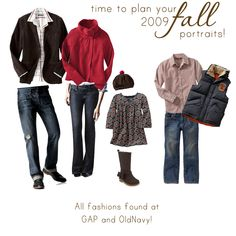 What to wear fall family picture Family Portrait Outfits, Fall Family Portraits, Family Picture Outfits, Fall Family Photos, Family Pictures, Fall Photos, Christmas Portraits, Kid Outfits, What To Wear Fall