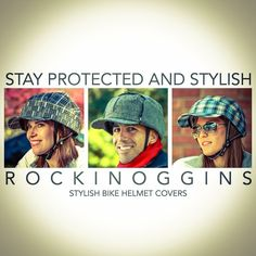 RockiNoggins #style #bikeride Helmet Covers, Bike Helmets, Crochet Hats, Stylish, Products, Knitting Hats, Gadget