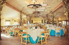 Lovely reception decor