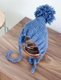 BLUE BABY HAT // HELPPO VAUVAN MYSSY ~ NO HOME WITHOUT YOU