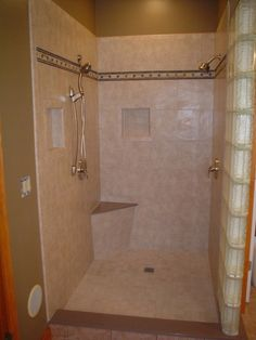 Cool Design Ideas Of Shower Stalls With Seat. Great Shower Stall With Seat