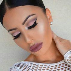 Thanks for follow and tag #tudoparachicas  Perfect makeup by@amrezy #makeup #mua #stunning #brows #vegasmakeupartist #lashes #lipstick #eyeshadow #maccosmetics #makeupartist #anastasiabeverlyhills #instamakeup #eotd #dressyourface #instaglam #cosmetics #vegas_nay #urbandecay #beauty #beautyblogger #vult #fiercesociety #cosmetic #mac #hudabeauty #eyeliner #luxury #eyelashextensions #vivaglam