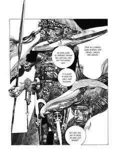 Sergio Toppi, Sharaz-de: Tales from the Arabian Nights