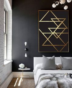 Marvelous Cool Ideas: Minimalist Home Bedroom Low Beds minimalist interior ideas loft.Minimalist Bedroom Diy Scandinavian Design bohemian minimalist home interiors.Bohemian Minimalist Home Interiors. Bedroom Styles, Bedroom Ideas, Diy Bedroom, Design Bedroom, Scandi Bedroom, Bedroom Colors, Bedroom Artwork, Bedroom Inspo, Bedroom Furniture