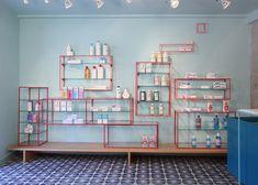 Farmacia de los Austrias pharmacy by Stone Designs, Madrid store design