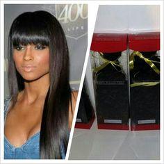 Achieve this look with all DiamondRubyHair premium straight hair