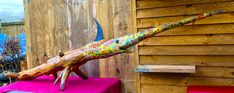 Swordfish Driftwood sculpture Driftwood Sculpture, Sculptures For Sale, Recycled Materials, Projects, Vintage, Environment, House, Ideas, Ebay