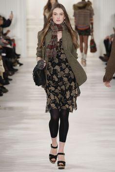 Sfilata Polo Ralph Lauren New York - Collezioni Autunno Inverno 2014-15 - Vogue