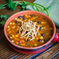 Chicken Enchilada Soup - Good Guacamole!