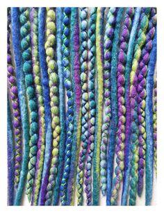 Wool-Dreads Jungle kurz by KatinkaDreads on Etsy