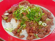 Get New Orleans-Style Red Beans and Rice Recipe from Food Network