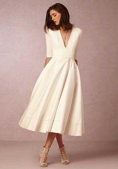 BHLDN Prosopere Dress A-Line Wedding Dress